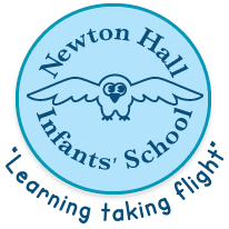 Newton Hall Infant's School logo